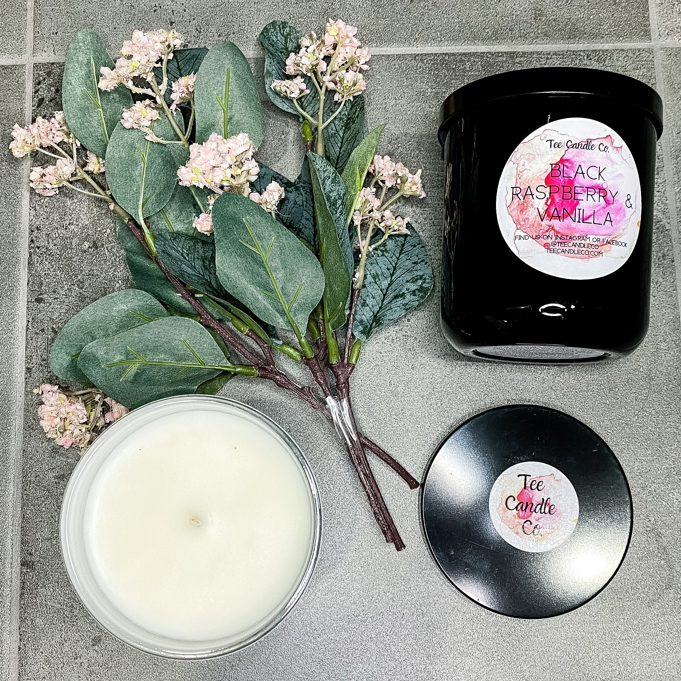 Black Raspberry & Vanilla | Soy Candle