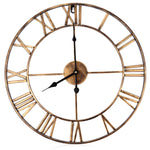 Large Iron Wall Clock