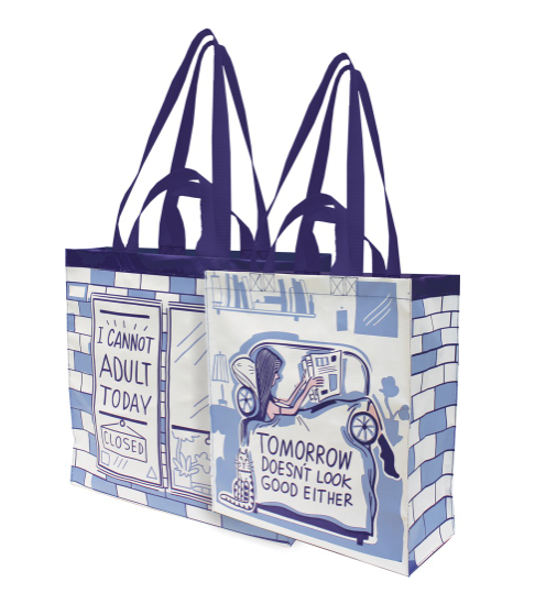 i cannot adult today market tote