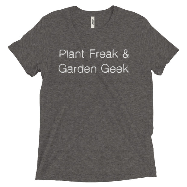 Plant Freak & Garden Geek T-Shirt in Grey