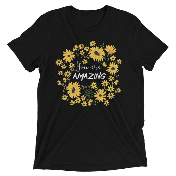 You Are Amazing Women's T-Shirt in black