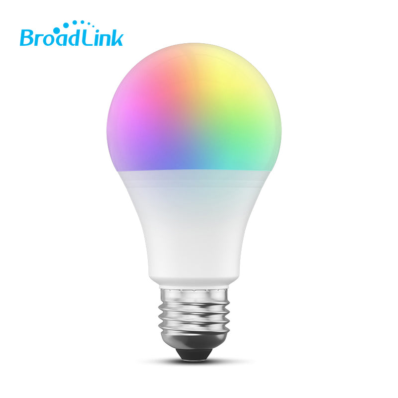 Foco Inteligente WiFi RGB/ Dimeable BroadLink 3 Pack - BroadLink México