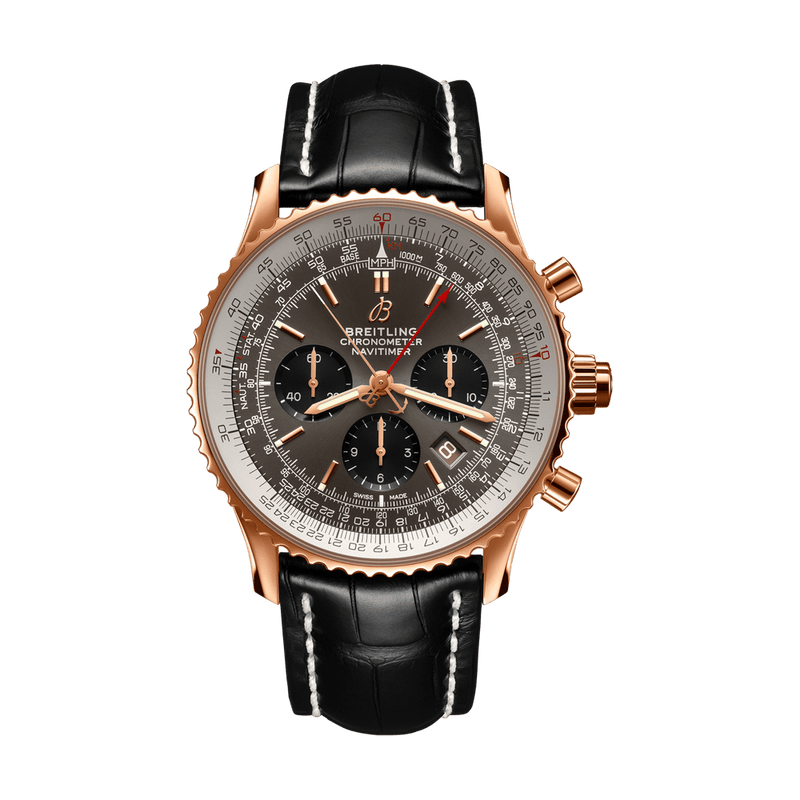 Breitling Watch Navitimer B03 Chronograph Rattrapante 45 RB0311E61F1P1