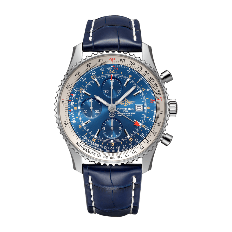 Breitling Watch Navitimer Chronograph GMT 46 A24322121C1P1