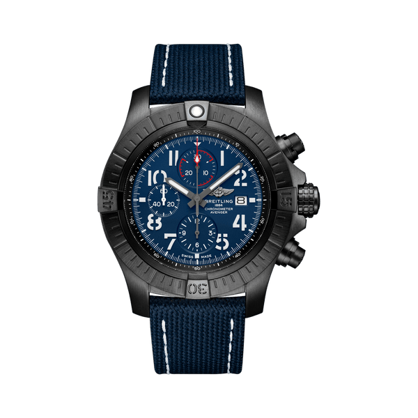 Breitling Watch Super Avenger Chronograph 48 Night Mission V13375101C1X1