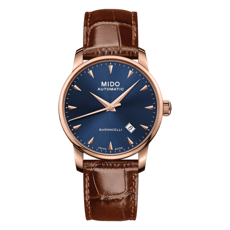 Mido Watch Baroncelli Midnight Blue Gent M8600.3.15.8