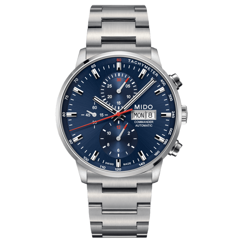 Mido Watch Commander Chronograph M016.414.11.041.00