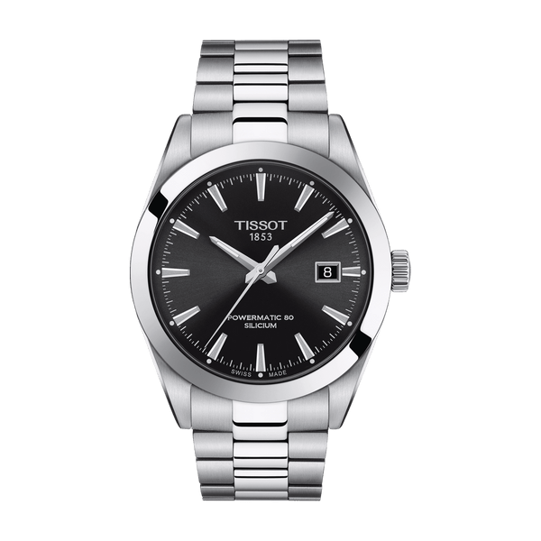 Tissot Watch Tissot Gentleman Powermatic 80 Silicium T127.407.11.051.00