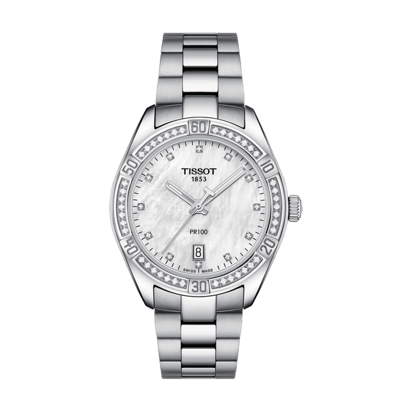 Tissot Watch Tissot Pr 100 Lady Sport Chic T101.910.61.116.00