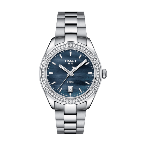 Tissot Watch Tissot Pr 100 Lady Sport Chic T101.910.61.121.00