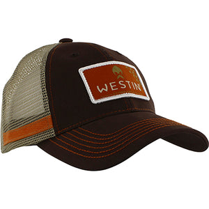 Westin Hillbilly Trucker Cap One Size Grizzly Brown
