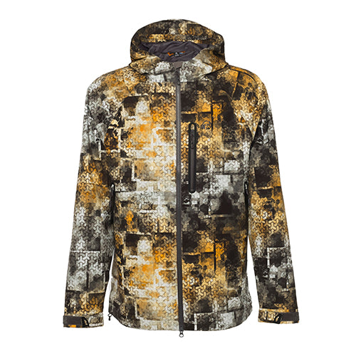 FHM Jacket Pharos Print Grey Orange