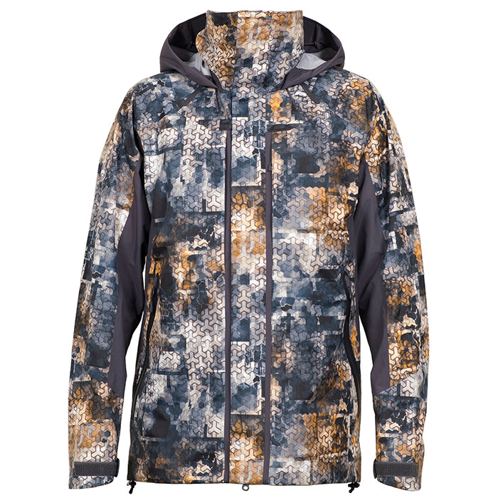 FHM Jacket Guard Competition Print Grey Orange