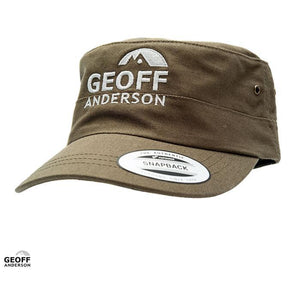 Geoff Anderson Snapback Military Cotton Olive