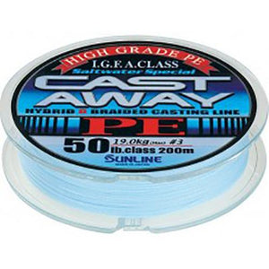 Sunline Cast Away braid line 150m