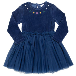 Jurk Velour Velvety Fairy Dress - Kite Clothing
