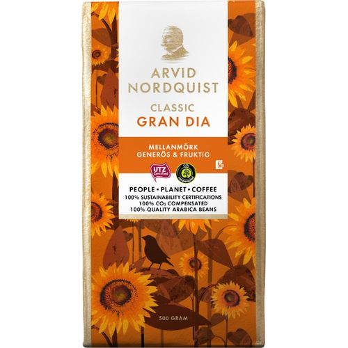 Koffie Gran Dia Medium-Dark roast Generous & Fruity - ­Arvid Nordquist
