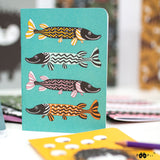 Notebook Little Pike Monivärinen – Paapii Design