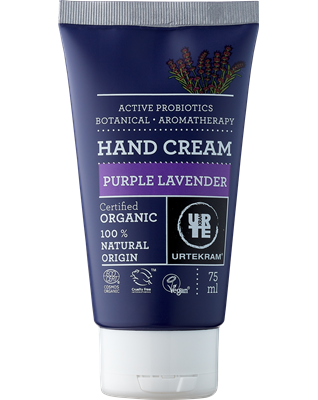 Purple Lavender Hand Cream - Urtekram