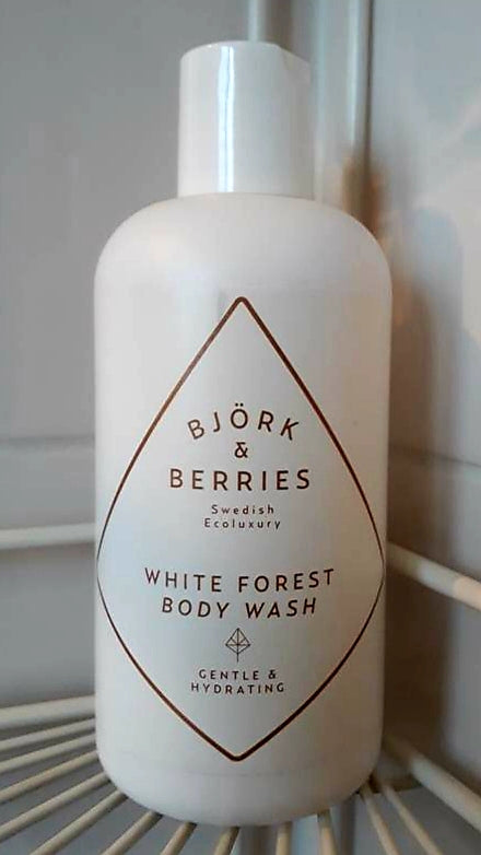 White Forest Body Wash – Björk & Berries