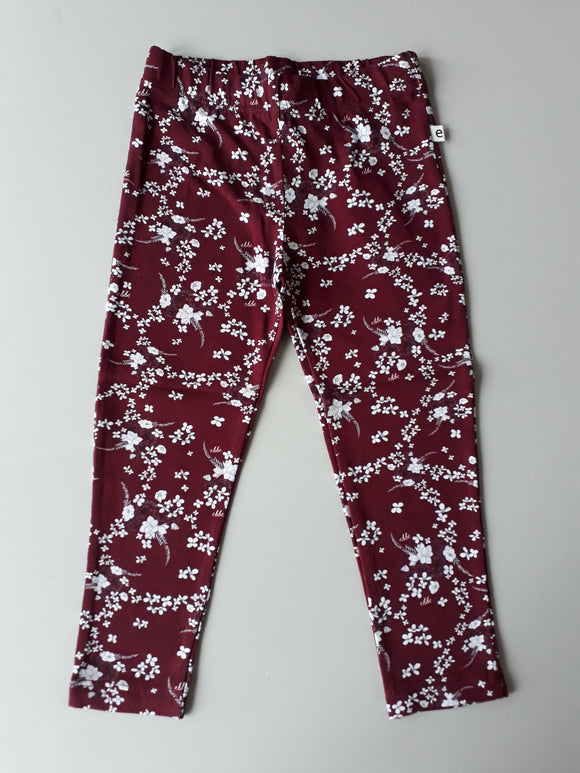 Legging Sandor White Flower - EBBE Sweden