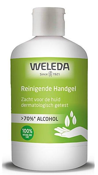 Reinigende Handgel >70% alcohol 250 ml – Weleda