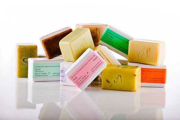 Pre-order - All Natural & Vegetable Soap & Shampoo Bars - verschillende soorten – Nea of Sweden