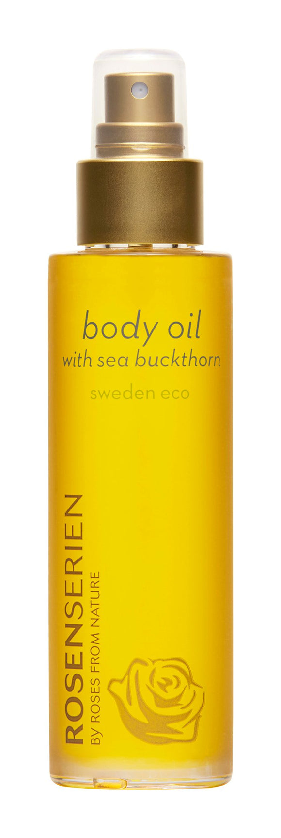 Body oil with sea buckthorn - Rosenserien