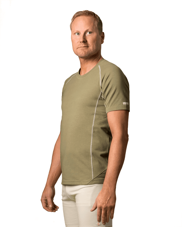 T‑shirt Manacala Green - B-Light Organic Clothing