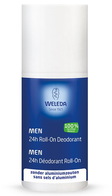 Men 24h Roll-On Deodorant – Weleda