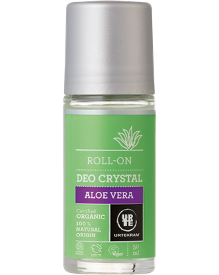 Aloe Vera Deo Crystal Roll-on - Urtekram
