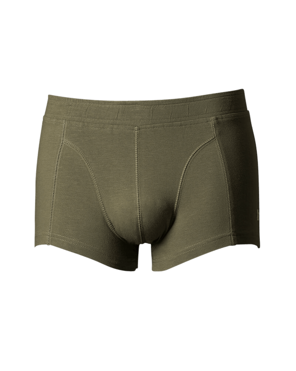 Boxershorts Accha Green maat S - B-Light Organic Clothing