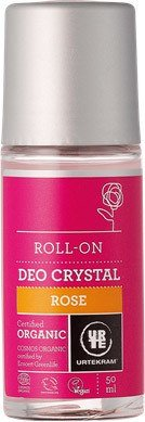 Rose Deo Crystal Roll-on - Urtekram