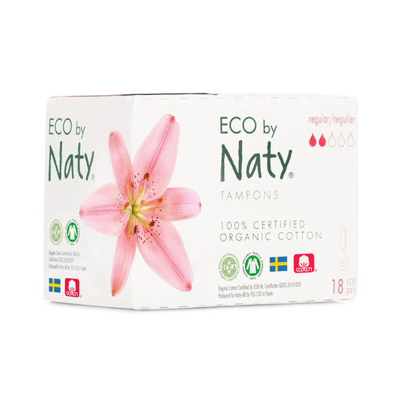 Tampons Regular – Eco by Naty