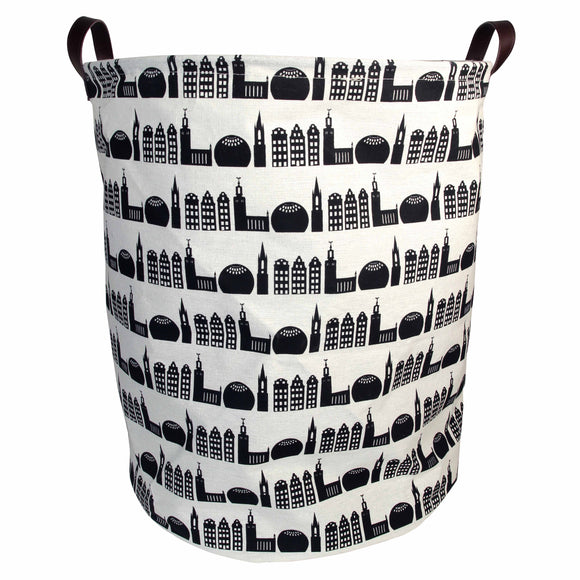 Stockholm City canvas storage bag large - Pluto Produkter
