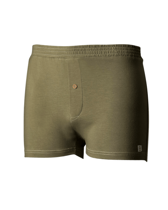 Boxershorts Antaranga II Green maat S - B-Light Organic Clothing