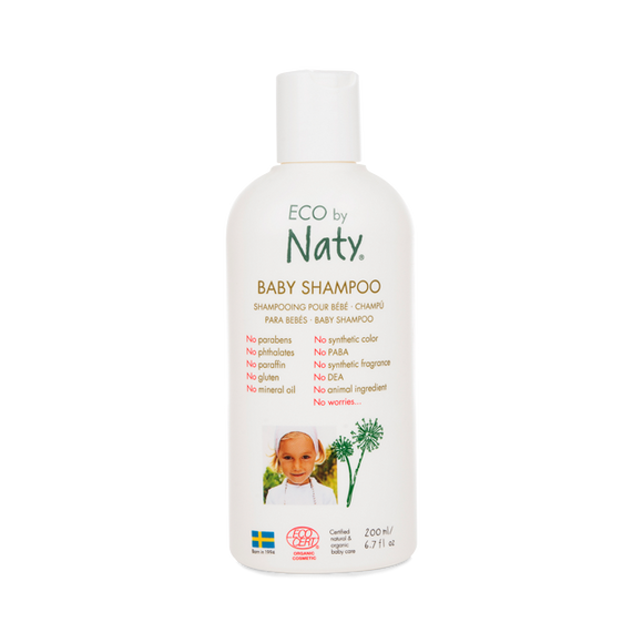 Baby Shampoo – Eco by Naty