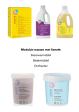 Wasmiddel vloeibaar color mint & lemon – Sonett