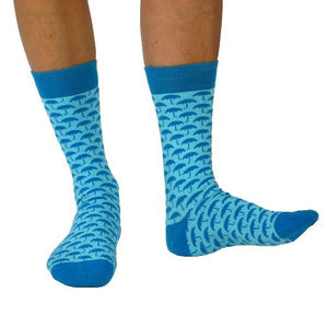 Sjöström lt blue sok - Organic socks of Sweden