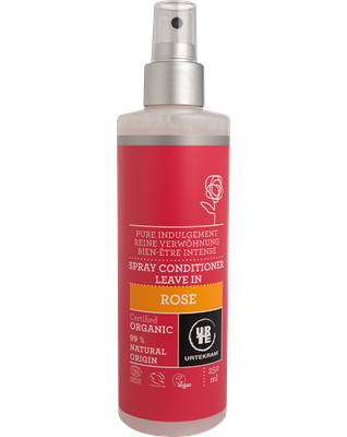 Rose Spray Conditioner Leave In – Urtekram