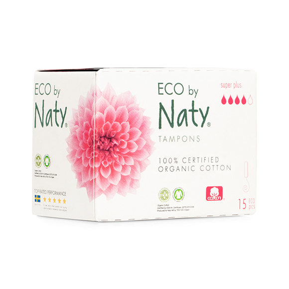 Tampons Super Plus – Eco by Naty
