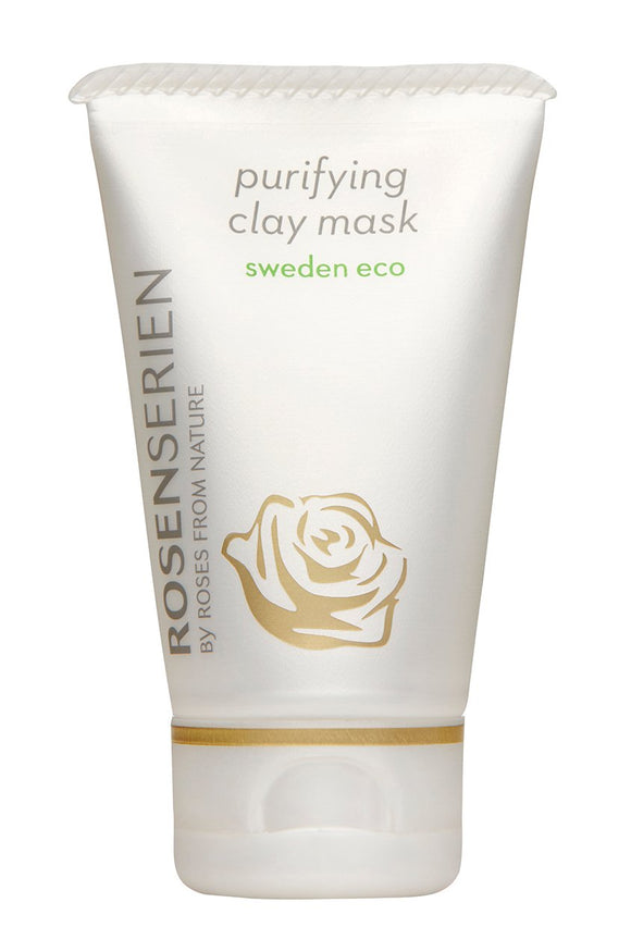 Purifiying clay mask - Rosenserien
