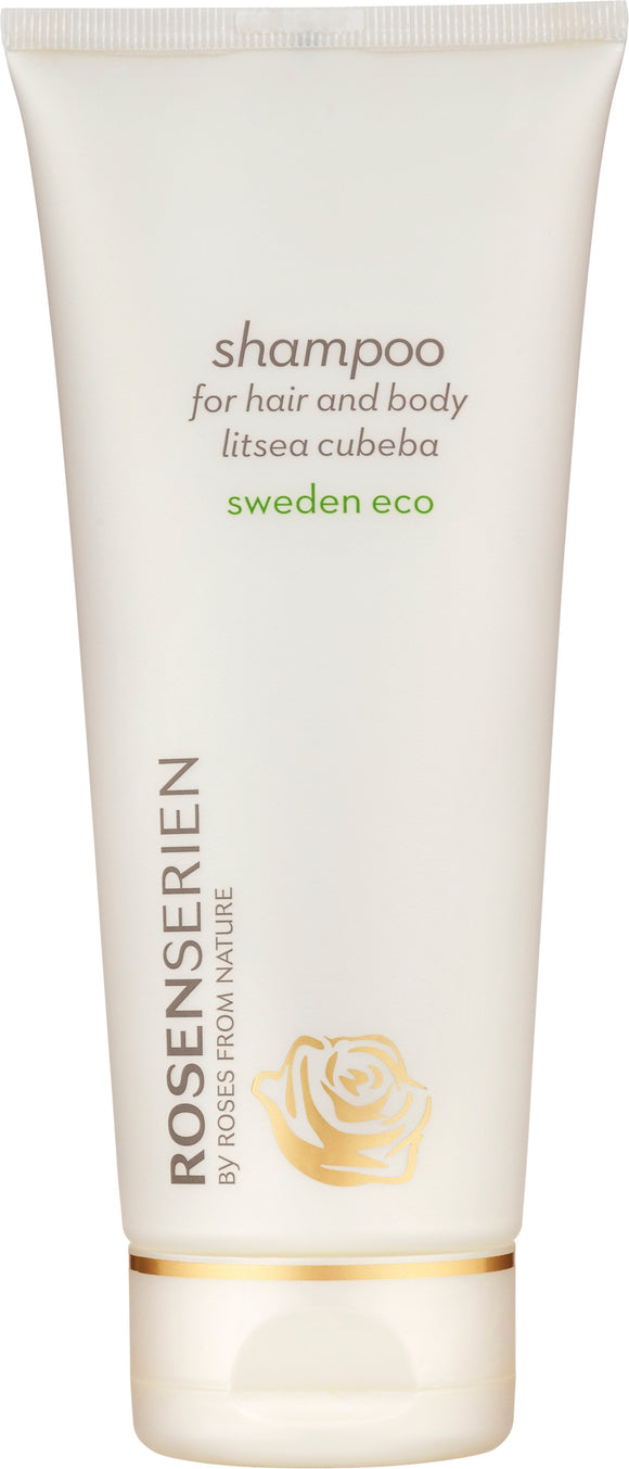 Shampoo for hair and body litsea cubeba - Rosenserien