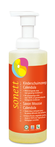 Kinderschuimzeep met dispenser 200 ml – Sonett