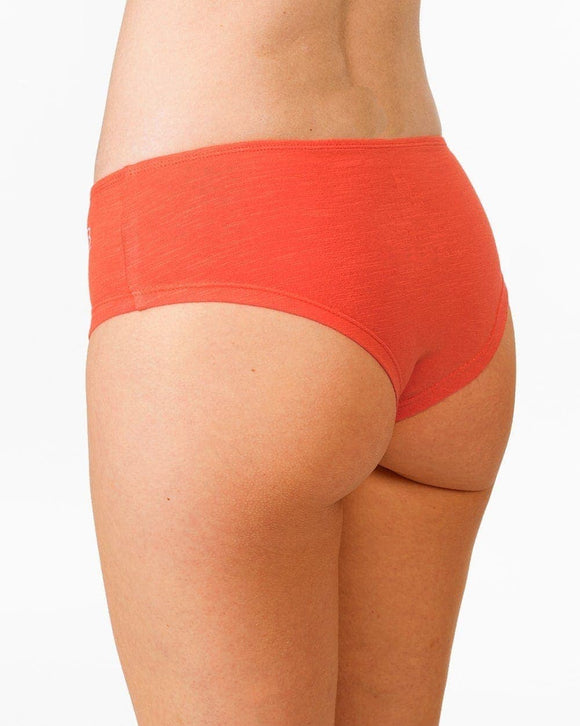 Hipster briefs Aram cherry tomate- B-Light Organic Clothing