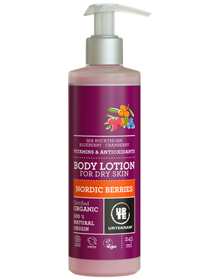 Nordic Berries Body Lotion - Urtekram