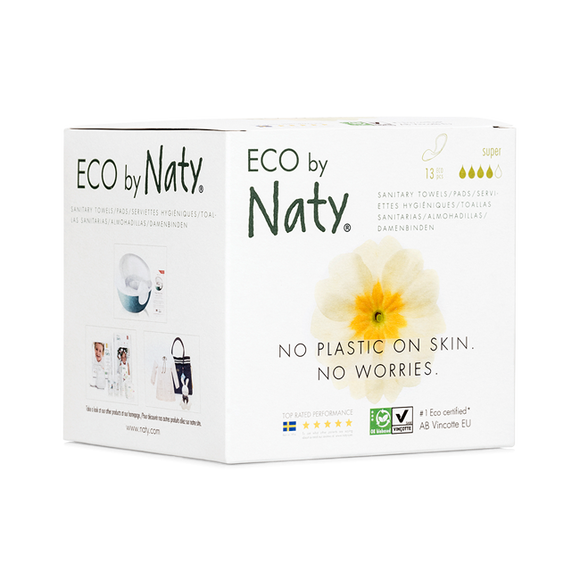 Dun maandverband Super– Eco by Naty