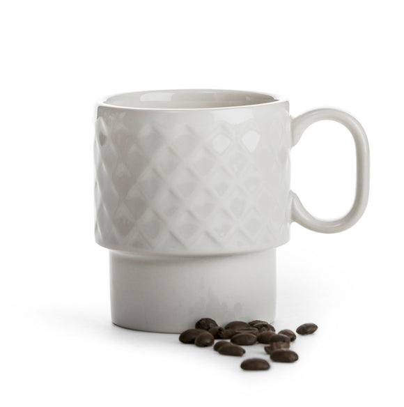 Coffee & More mug white - Sagaform
