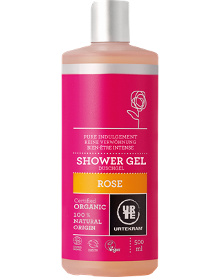 Rose douchegel 500 ml - Urtekram
