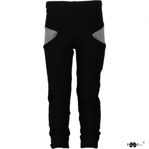 Broek sweatpants Sisu black grey 86 t/m 122 – Paapii Design